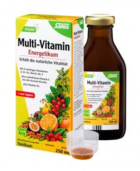 MULTIVITAMIN TONIKUM 250 ml epresat, vitamín B, vitamín C, niacin, vitamín E, výživa, vitamíny, psychika, imunita, floradix, liftec