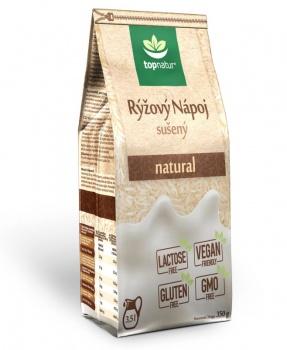 RÝŽOVÝ NÁPOJ NATURAL 350 g rýžový nápoj,vegan,rostlinné mléko,bez lepku,bez GMO,rýže,alternativa mléka