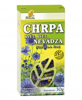 CHRPA květ 30 g chrpa květ, diuretikum, žlučopudný účinek, žloutenka, rány, omývání ran, močopudné