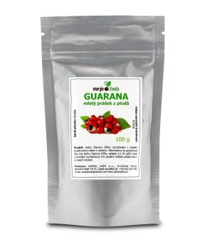 GUARANA prášek 100 g guarana, kofein, energie