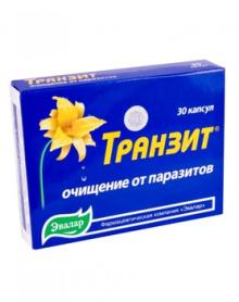 TRANZIT protiparazitická kúra 30 kapslí