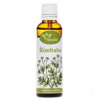 ŘIMBABA - Z BYLIN 50 ml Řimbaba - z bylin Serafin, kopretina, migréna, tinktura na bolest hlavy