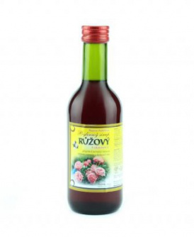 RŮŽOVÝ - bylinný sirup 250 ml