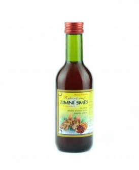 ZIMNÍ SMĚS bylinný sirup 250 ml