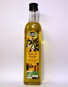 SEZAMOVÝ OLEJ BIO 500 ml sezamové semínko,bílkoviny,cholesterol,střeva,vegan,tuky,antioxidant,migréna,protizánětlivý účinek,cukrovka