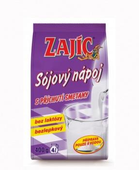 ZAJÍC sójový SMETANA 400 g