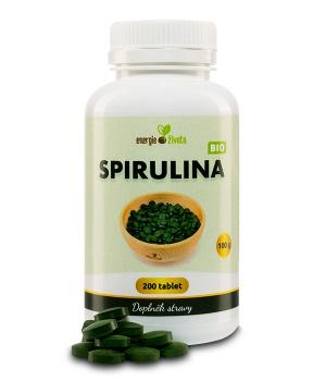 SPIRULINA BIO tablety 200 tablet spirulina, detoxikace