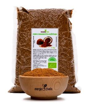 KOKOSOVÝ CUKR BIO 1 kg kokosový cukr