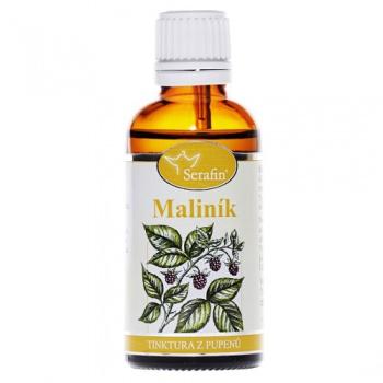 MALINÍK - Z PUPENŮ 50 ml maliník tinktura z pupenů, serafin,menstruační potíže, hormony u žen