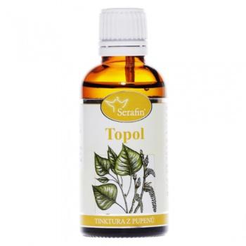 TOPOL - Z PUPENŮ 50 ml topol tinktura z pupenů serafin, borelióza, ledviny, klouby, šlachy, topol, serafin