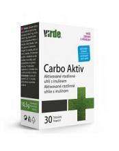 CARBO AKTIV - rostlinné uhlí 30 ks carbo aktiv virde