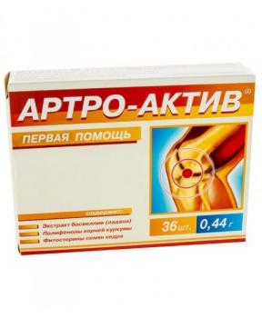 ARTRO active 36 tbl