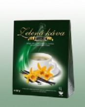 ZELENÁ KÁVA 50g - VANILKA   zelená káva vanilka DNM