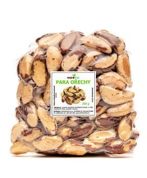 PARA ořechy 250 g ořechy,hořčík,bílkoviny,tuky,vegan,cholesterol,prostata,ledviny,selen,vitamín E,omega 6,pleť,zánět