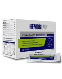 HEMOREND - hemeroidy 20 sáčků HEMOREND
