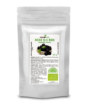 ACAI BERRY extrakt prášek 50 g BIO stres,hubnutí,antioxidant,kůže,metabolismus,svaly,štíhlá linie