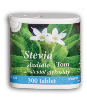 STEVIA 300 tablet sladidlo, dia, stevia