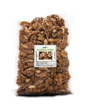 VLAŠSKÁ JÁDRA 250 g zinek,mozek,ořechy,mozek,soustředění,omega 3,brahmi,bystrá mysl,bílkoviny,střeva,zinek,hubnutí,tuky