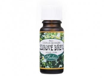 CEDROVÉ DŘEVO - 100% ESENCIÁLNÍ OLEJ 10 ml vonný olej,repelent,harmonie,psychika,uklidnění,antiseptické,rýma,aromaterapie,esenciální olej
