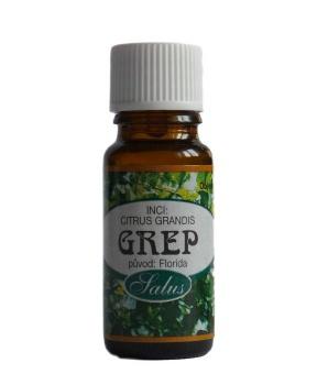 GREP - 100% ESENCIÁLNÍ OLEJ 10 ml vonný olej,antidepresivum,dezinfekce,vzduch,únava,povzbuzení,deprese,uklidnění,úzkost,aromaterapie