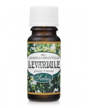 LEVANDULE - 100% ESENCIÁLNÍ OLEJ 10ml vonný olej,migréna,proti molům,uklidnění,nespavost,snížení krevního tlaku,tlak,srdce,stres