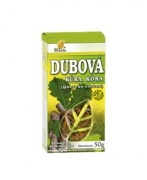 DUBOVÁ KŮRA 50 g dubová kůra čaj milota 50g