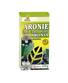 JEŘABINA ČERNÁ PLOD (Aronie) 100g jeřabina černá plod čaj milota 100g