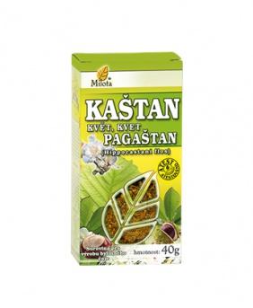 KAŠTAN KVĚT 20 g kaštan květ čaj milota 20 g