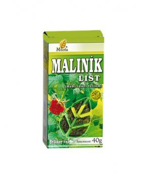 MALINÍK LIST 40 g maliník čaj čaj milota 40g, maliník list