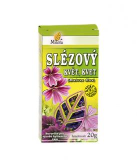 SLÉZ KVĚT 20g sléz květ čaj milota 20g
