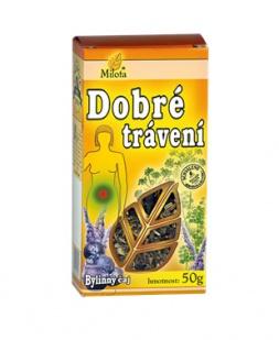 DOBRÉ TRÁVENÍ - sypaný čaj 50g dobré trávení čaj milota 50g