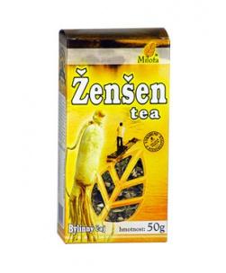 ŽEN-ŠEN TEA sypaný čaj 50g žen-šen tea čaj milota 50g