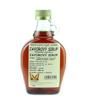 JAVOROVÝ SIRUP 250 ml