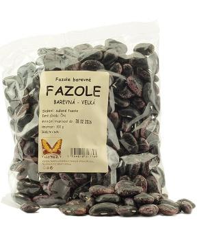 FAZOLE BAREVNÁ 300g barvená fazole, becoky
