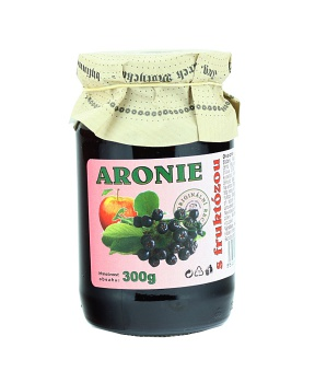 ARONIE S FRUKTÓZOU 300 g marmeláda s fruktózou, marmeláda bez cukru