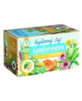 LYMFOREGEN porcovaný čaj 30g lymfa,lymfatický systém,otoky,ledviny