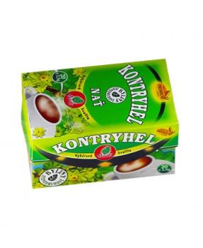 KONTRYHEL porcovaný čaj trávení,menstruace,křeče,kontryhel,trávení,pms