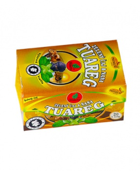 TUAREG ZELENÝ ČAJ S MÁTOU porcovaný čaj 30g zelený čaj, máta, milota tuareg 30g
