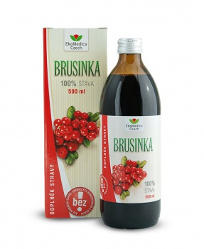 BRUSINKA šťáva 500 ml