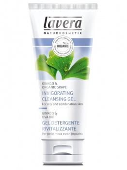 OSVĚŽUJÍCÍ ČISTÍCÍ GEL GINGO 100ml - LAVERA bio kosmetika, čistící gel, smíšená pleť, mastná pleť, přírodní kosmetika, bez parabenů