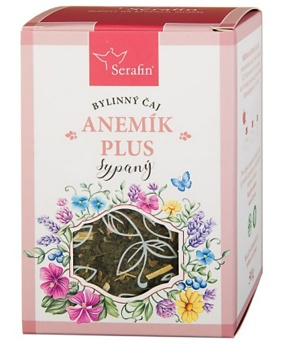 ANEMÍK PLUS - sypaný čaj 50 g bylinný čaj, krev, byliny, čaj, železo, anémík, anémie, serafin