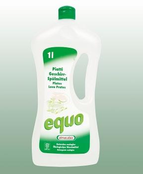 PROSTŘEDEK NA NÁDOBÍ 1 l EQUO ekologický prostředek,prostředek na nádobí,ekologie,nádobí,citlivá pokožka
