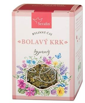 ČISTÝ KRK - sypaný čaj 50 g angína, bylinný čaj, bolest v krku, horní cesty
