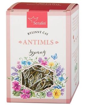 ANTI-MLS - sypaný čaj 50 g bylinný čaj, snížení chuti k jídlu, byliny, čaj, hubnutí, dieta, lymfa, serafin