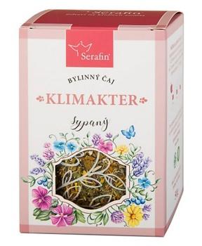 KLIMAKTER - sypaný čaj 50 g bylinný čaj, klimakterium, byliny, čaj, ženské pohlavní orgány, menopauza, pocení