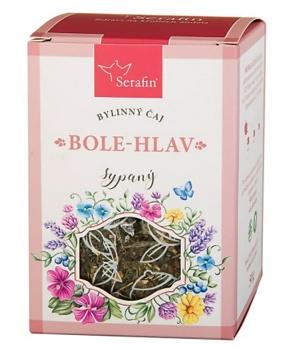 BOLE-HLAV - sypaný čaj 50 g bylinný čaj, bolest hlavy, byliny, čaj, stres, uvolnění, hlava, zuby, migréna, bolest hlavy