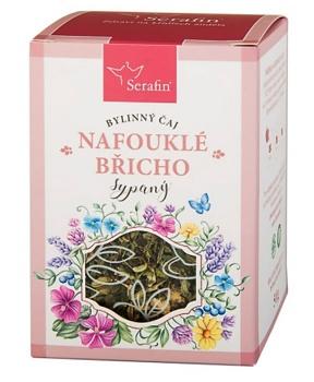 NAFOUKLÉ BŘICHO 50 g bylinný čaj, trávení, byliny, čaj, zažívání, střeva, nadýmání