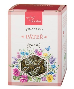 PÁTEŘ - sypaný čaj 50 g bylinný čaj, páteř, byliny, čaj, klouby, pohybový aparát, uvolnění