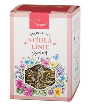 ŠTÍHLÁ LINIE - sypaný čaj 50 g bylinný čaj, hubnutí, byliny, čaj, redukce váhy, metabolismus tuků, detoxikace