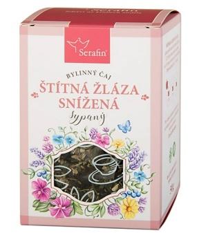 ŠTÍTNÁ ŽLÁZA - SNÍŽENÁ FUNKCE  bylinný čaj, štítná žláza, byliny, čaj, snížená funkce, hormonální systém